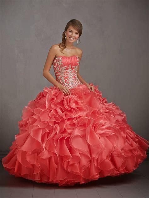 vestidos de quince con volados vestidos de fiesta quotes vestidos para quincea 241 eras exclusivos vestidos de fiesta