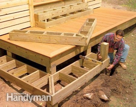 Deck Corner Stairs Design How To Build The Deck Of Your Dreams Corner Deck Deck Stairs And Decking