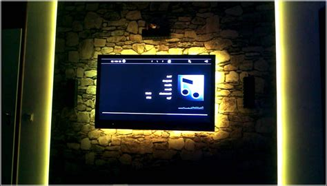 Tv Led Beleuchtung by Tv Wand Mit Led Beleuchtung Beleuchthung House Und