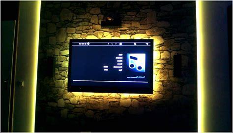 beleuchtung tv tv wand mit led beleuchtung beleuchthung house und