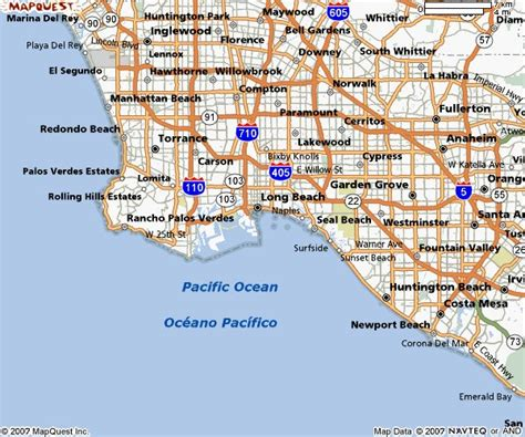 map of los angeles hotels la and orange county map