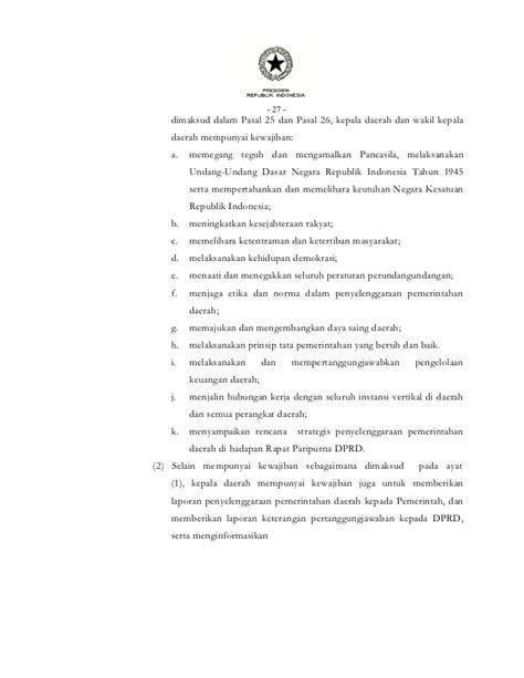 Uu Ri No 32 Dan 33 Tahun 2004 Tentang Otoda 2004 2010 undang undang republik indonesia nomor 32 tahun 2004 cintayasir