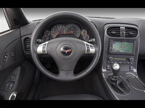 2009 Chevrolet Corvette Coupe Dashboard 1280x960