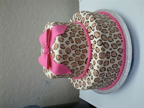 masam manis leopard cake cheetah cake leopard print cake cakecentral com