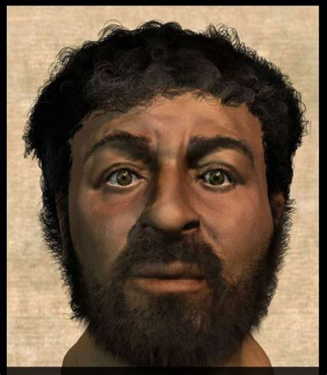 image of christ british forensic scientist recreates a very different