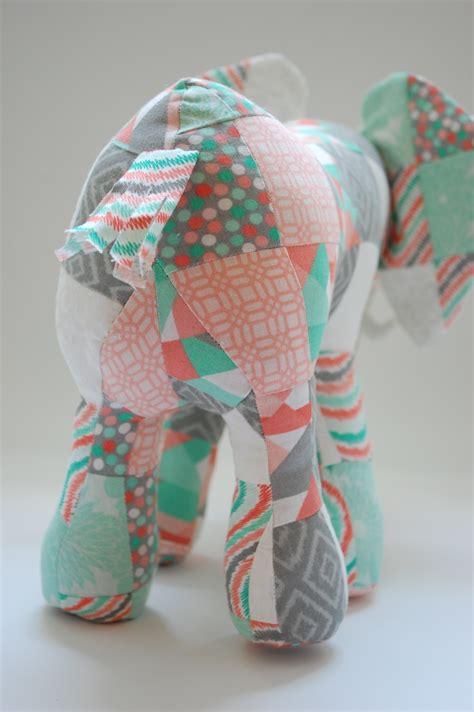 Patchwork Elephant Book - patchwork elephant whileshenaps