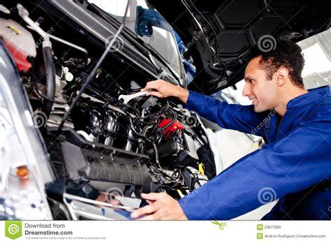 auto repair mechanics how to remove a car door panel car mechanic royalty free stock images image 23877899