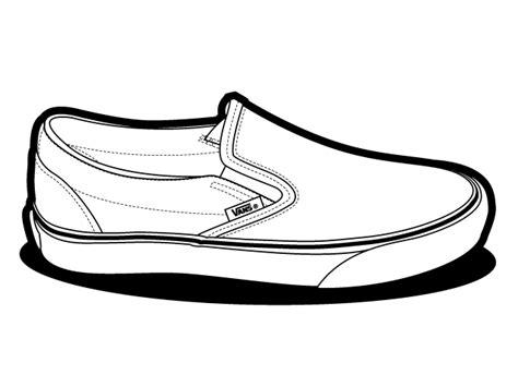 vans shoes coloring page vans shoe drawings sketch coloring page