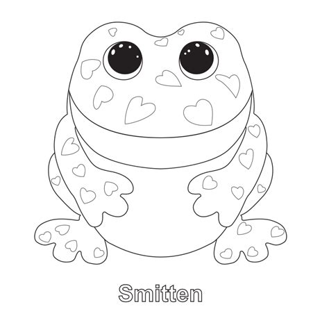 beanie babies coloring page pin by kami seidel on paisley s beanie boo birthday party