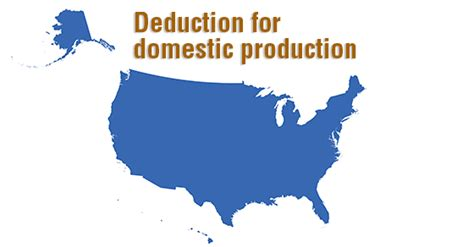 section 199 manufacturing deduction the quot manufacturers deduction quot isn t just for manufacturers