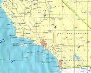 southern california casinos map map of southern california