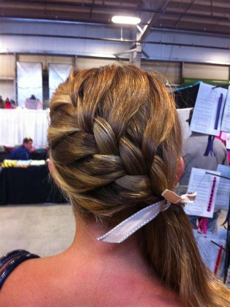 braided hairstyles side ponytail french braid side ponytail long hairstyles how to
