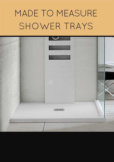 Made To Measure Showers shower tray uk level walk in low profile coloured