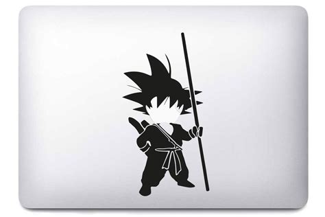 Decal Keyboard Macbook Sticker Goku stickers macbook pro kamos sticker