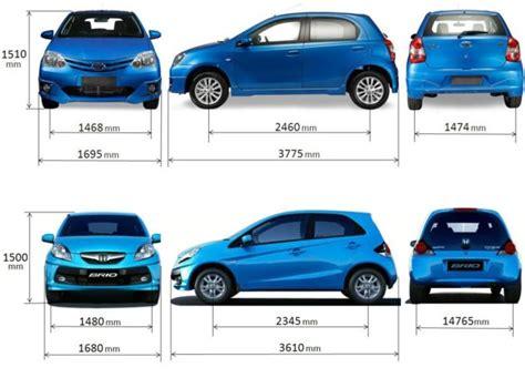 Mobil Ukuran Panjangim Mobil Brown giias 2017 bukan asal cetak kenali data spesifikasi mobil sebelum membeli