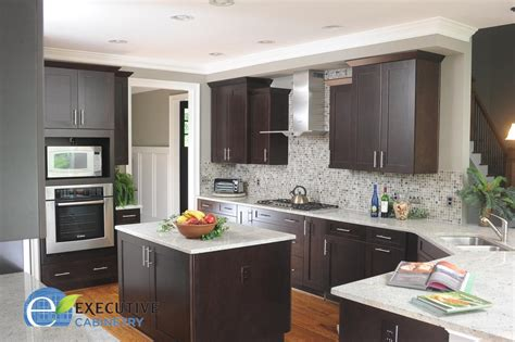 executive kitchen cabinets cabinets of the desert dark wood custom cabinets by