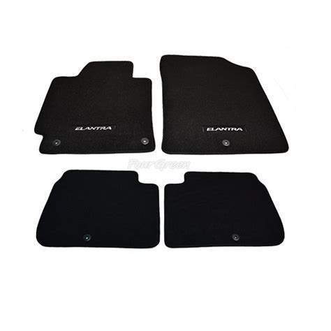 genuine floor mats for hyundai elantra 2011 2013 new ebay