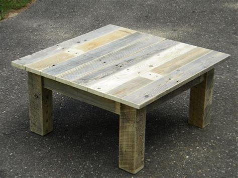 Wood pallet coffee table project 101 pallets