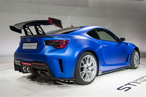 subaru brz sti performance concept unveiled at 2015 new
