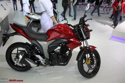 Suzuki Automatic Motorcycle Suzuki Motorcycles Auto Expo 2014 Team Bhp