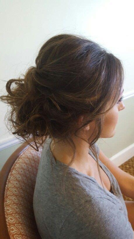 2105 evening hairstyles messy textured florida wedding updo hair pinterest