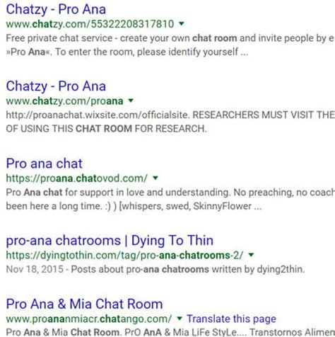 anorexia chat room pro support and discussions chatzy