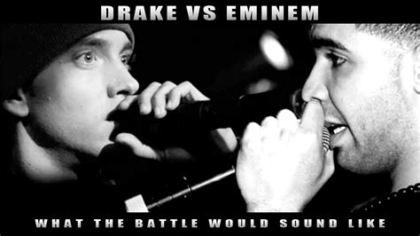 Eminem Drake Meme - drake vs eminem what the battle would sound like youtube