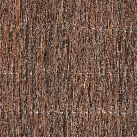 Japanese Trellis Garden Trend 1 8 X 3m Brushwood Screen Fencing Bunnings