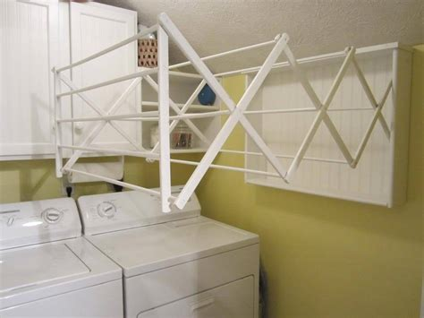 homemade drying rack make your own laundry room drying rack easy diy project home staging in bloomington illinois