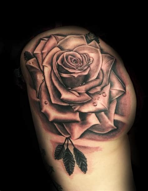 big rose tattoo big by joshua nordstrom tattoonow