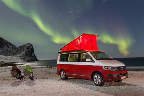 volkswagen california cer vw california 2017 review cing at the arctic circle