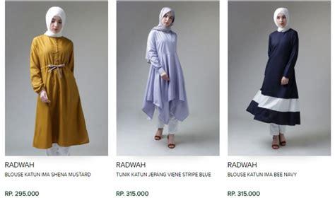jual baju muslim fashion jual baju muslim eceran di surabaya blouse muslimah indonesia online peach chevron blouse