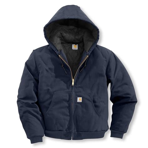 Carhartt Quilted Flannel Lined Duck Active Jacket carhartt s quilted flannel lined duck active jacket