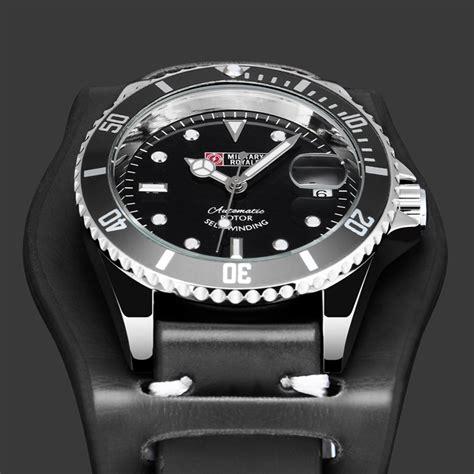 Jam Tangan Pria Swiss Army Black 3 Pilihan Warna royale jam tangan automatic self winding pria mr116 black black jakartanotebook