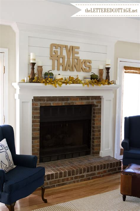 35 fabulous fall mantels the cottage market