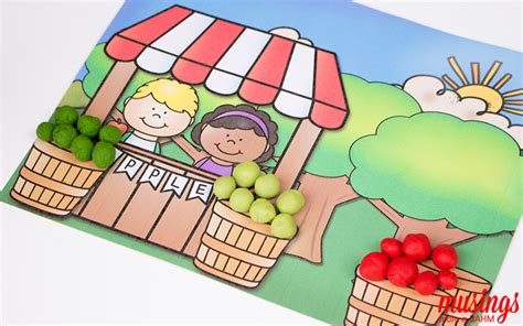 printable apple playdough mats printable apple playdough mats