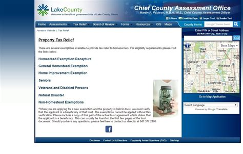County Assessor S Office by Property Tax Relief Lake County Illinois Assessment