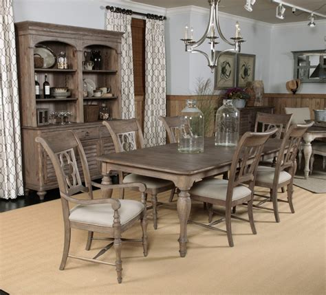 kincaid dining room kincaid weatherford canterbury rectangular dining table