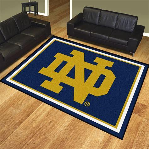 Notre Dame Area Rug Of Notre Dame Nd Logo Area Rug 8 X 10