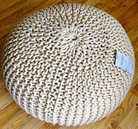 knitted pouffe uk new contemporary chunky knit knitted pouffe foot stool