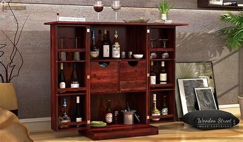 Hutch Bar And Eatery Spence Bar Cabinet Mahogany Finish