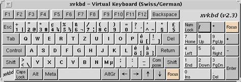 german keyboard layout download windows xvkbd virtual keyboard for x window system