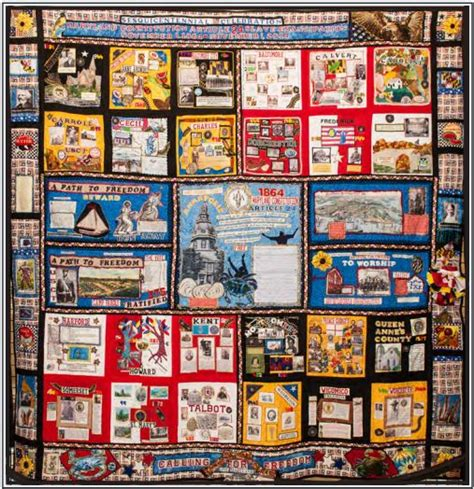 Quilt Shops Maryland by Sesquicentennial Maryland Emancipation Quilt On Display At