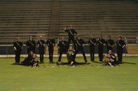 The Section Band by Section Pictures Milton High School Mighty Black Gold Band
