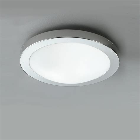 Bathroom Ceiling Light Fitting Franklite Cf1292 Ip54 1 Light Flush Bathroom Ceiling Fitting
