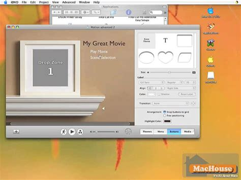 idvd format for dvd player making your own dvd with imovie hd and idvd 06 machouse