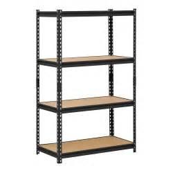adjustable width shelving buy edsal ur 364blk heavy duty steel industrial shelving