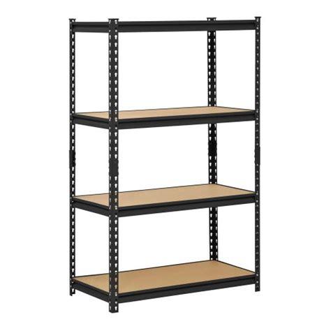 buy edsal ur 364blk heavy duty steel industrial shelving