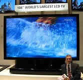 Image result for largest lcd tv screen. Size: 166 x 160. Source: thefutureofthings.com