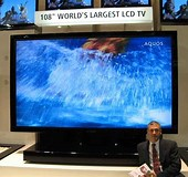 Image result for World's Largest Flat screen TV. Size: 170 x 160. Source: thefutureofthings.com